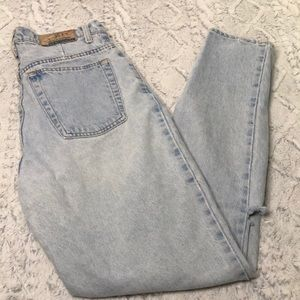 Vintage Express Women's Jeans 13/14 high tapered